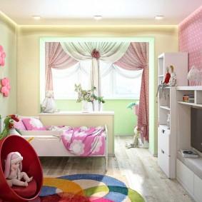 детская комната на балконе идеи дизайна