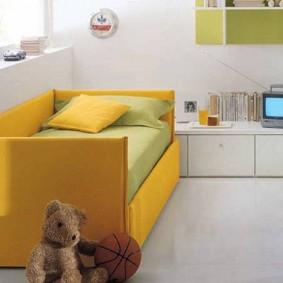 детская комната на балконе интерьер фото