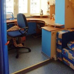 детская комната на балконе интерьер идеи