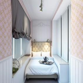 детская комната на балконе идеи интерьер