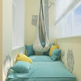 детская комната на балконе идеи интерьера