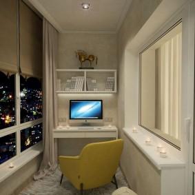 детская комната на балконе оформление фото