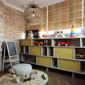 детская комната на балконе фото дизайн