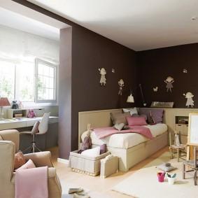 детская комната на балконе дизайн идеи