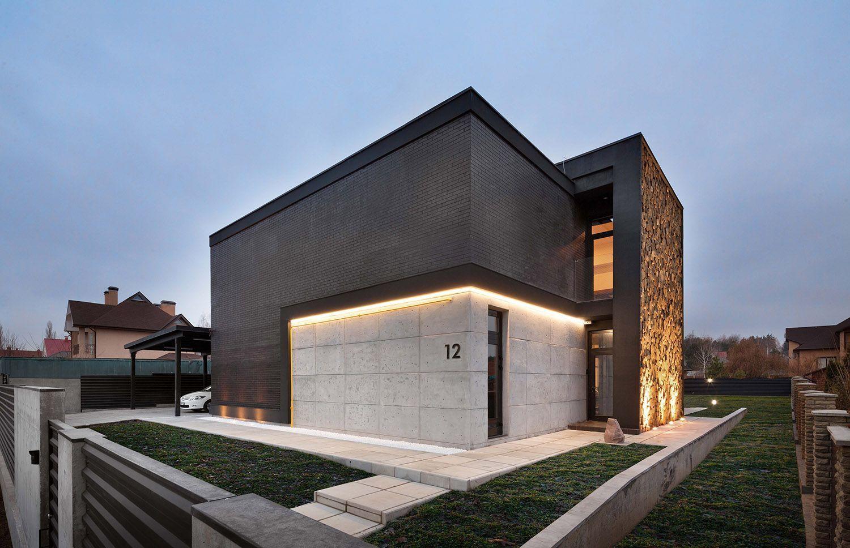 необычный дизайн дома снаружи