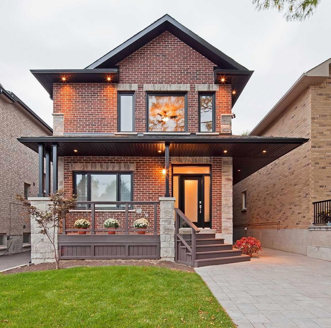 дизайн фасада частного дома снаружи