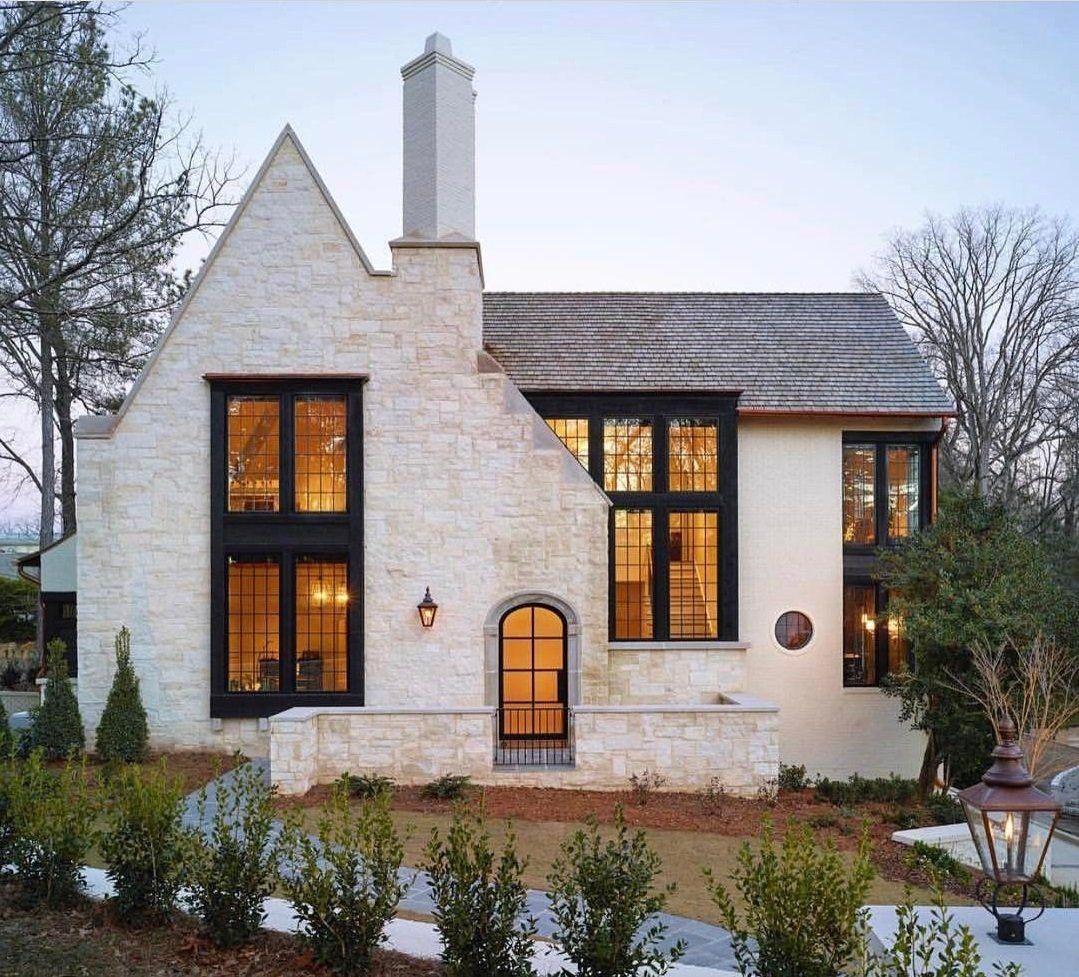 красивый дизайн дома снаружи