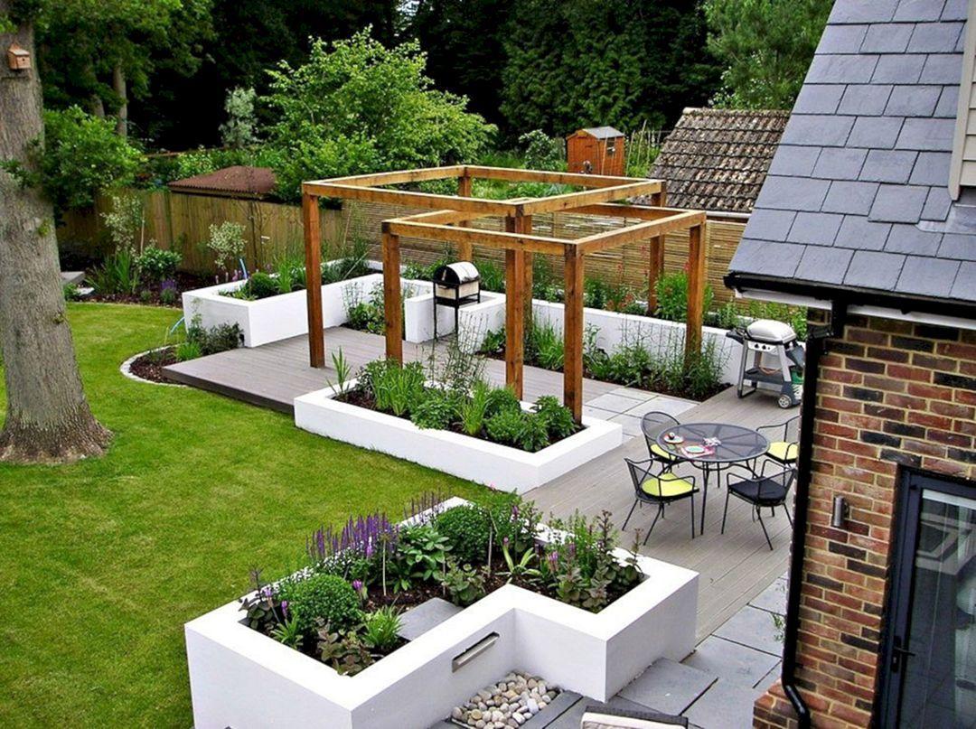 дизайн двора и сада своими руками