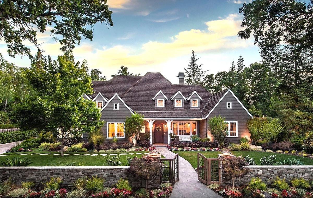 38254 Дизайн двора частного дома (своими руками)