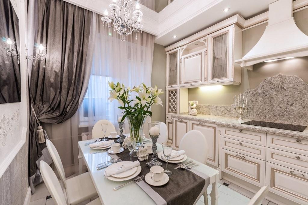 дизайн кухни 12 кв м с выходом на балкон