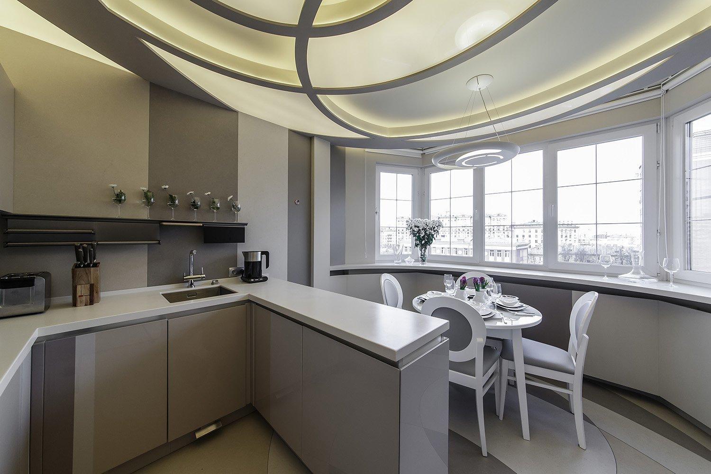 дизайн кухни 12 кв м с лоджией