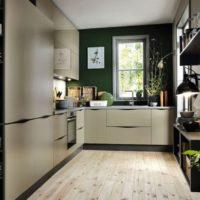 36870 Дизайн кухни 12 кв. м.: все возможные комбинации