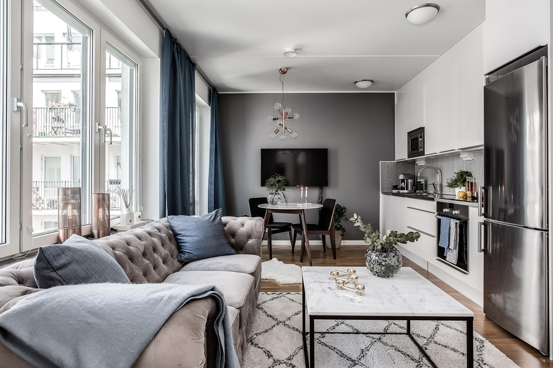 дизайн кухни-гостиной 12 кв м