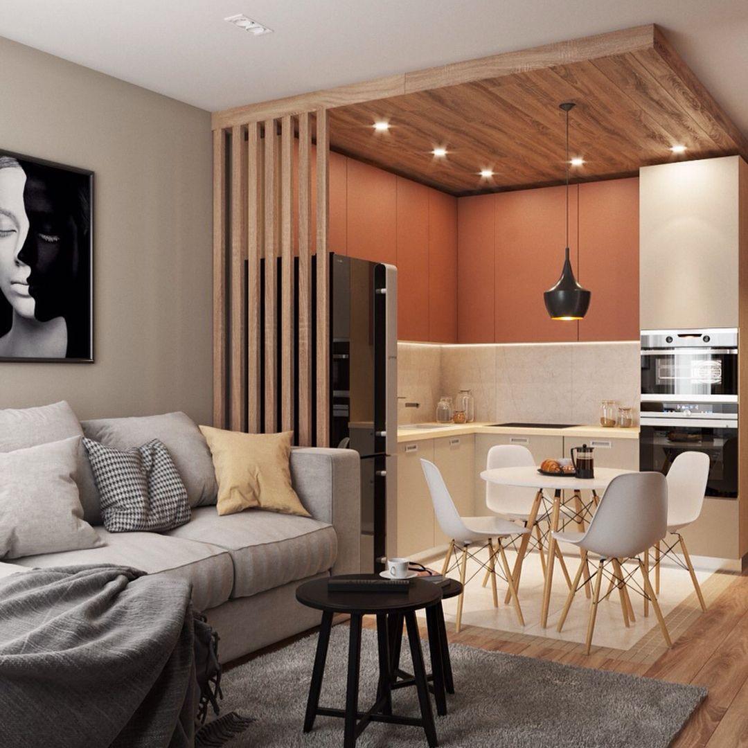 дизайн кухни гостиной 12 квадратных метров