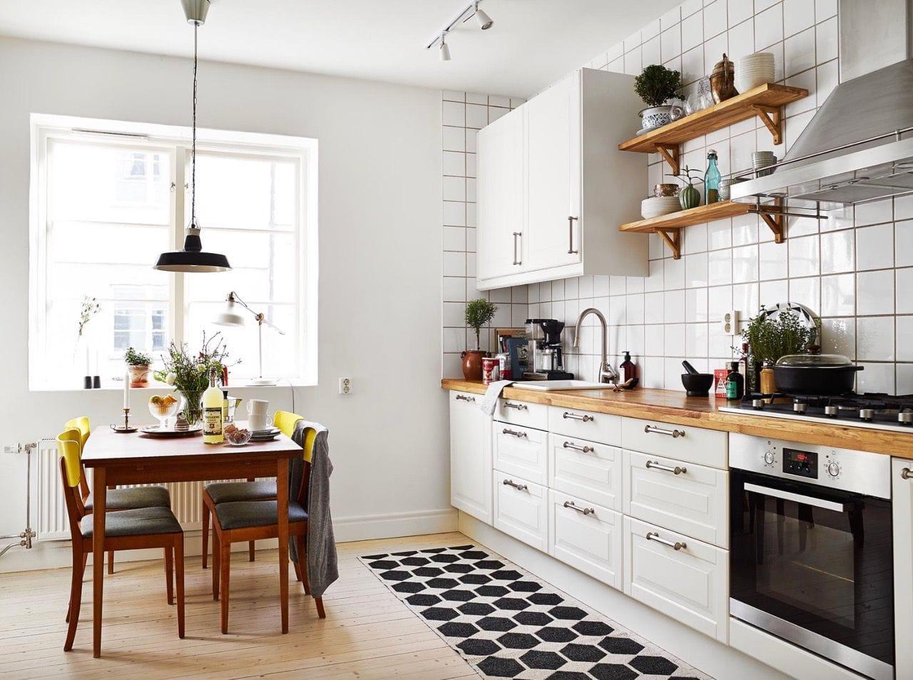 интерьер кухни 3 на 4
