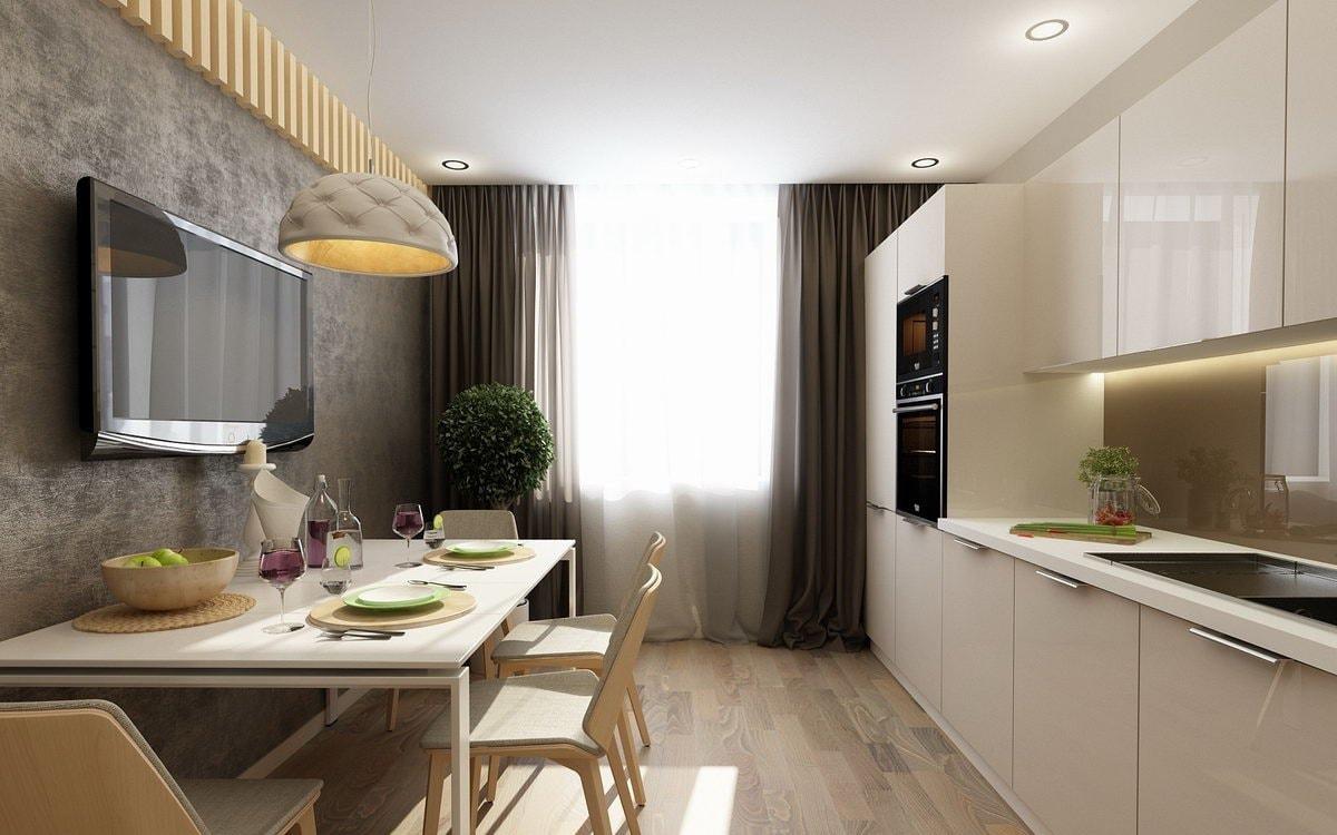 дизайн кухни 12 кв м в квартире