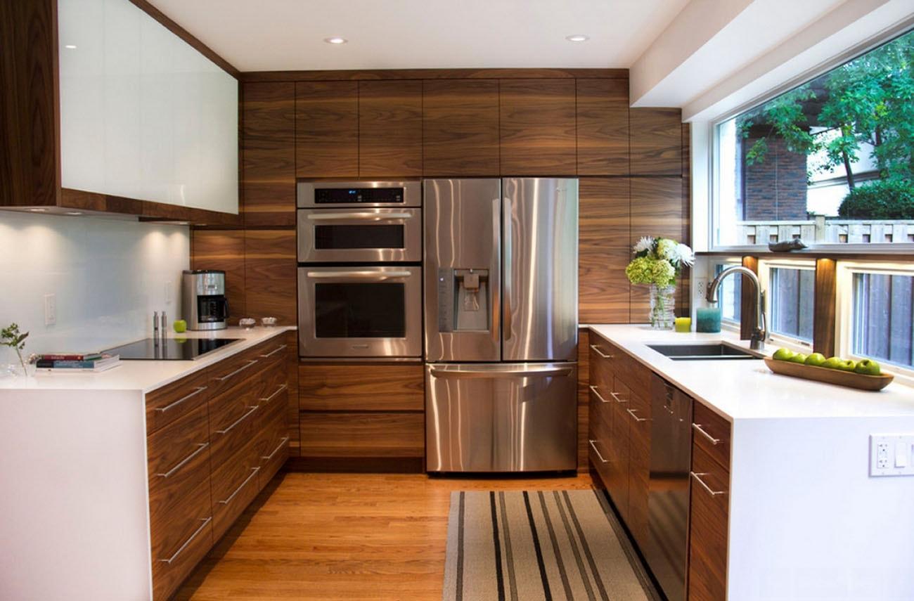 дизайн интерьер кухни 12 кв.м