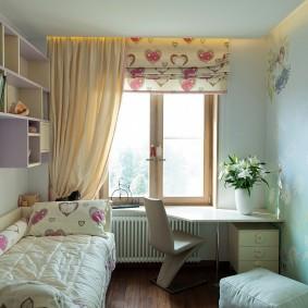 Небольшая детская комната в хрущевке