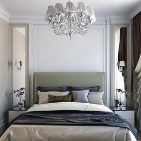 Маленькая спальня в квартире панельного дома