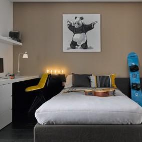 Декор спальни в современной квартире