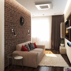 Элементы лофта в интерьере квартиры