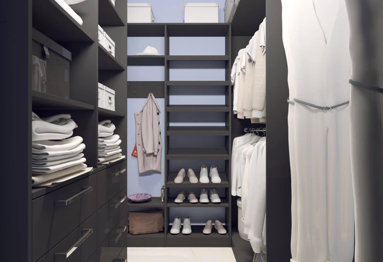 38503 Фотографии идей дизайна гардеробной комнаты площадью 4 кв м
