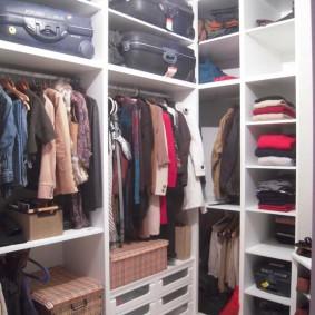 гардеробная комната 4 кв м обзор
