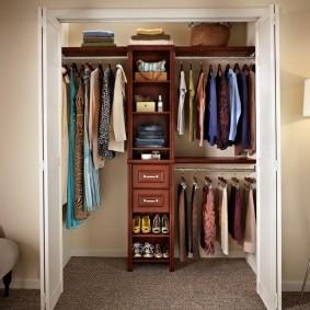 гардеробная комната 4 кв м идеи дизайн
