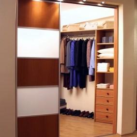 гардеробная комната 4 кв м идеи оформление