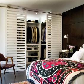 гардеробная комната 4 кв м фото видов