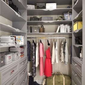 гардеробная комната 4 кв м интерьер идеи