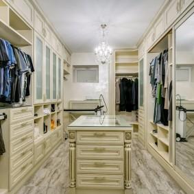 гардеробная комната в квартире фото