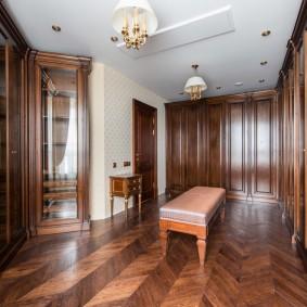 гардеробная комната в квартире идеи дизайна