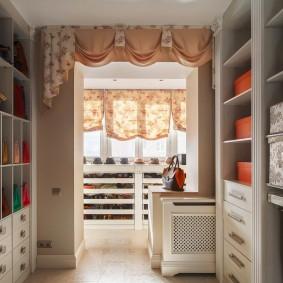 гардеробная комната в квартире декор фото