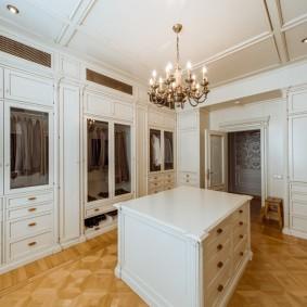 гардеробная комната в квартире фото декора