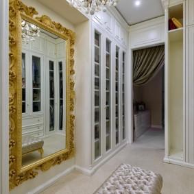 гардеробная комната в квартире декор идеи