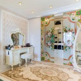 гардеробная комната в квартире интерьер