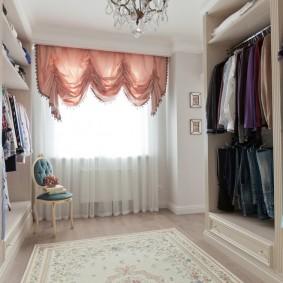 гардеробная комната в квартире интерьер идеи
