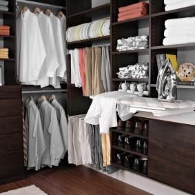 гардеробная комната в квартире идеи интерьер