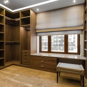 гардеробная комната в квартире идеи интерьера