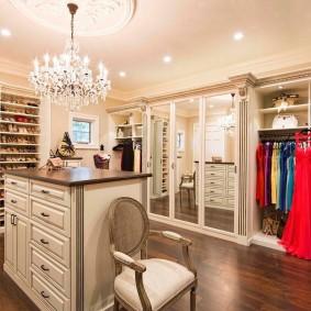 гардеробная комната в квартире идеи фото