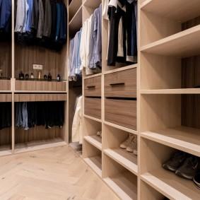 гардеробная комната в квартире оформление идеи