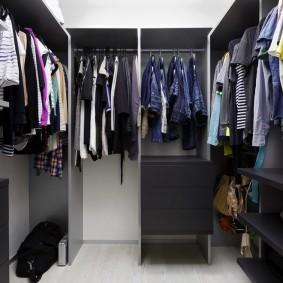 гардеробная комната в квартире фото вариантов