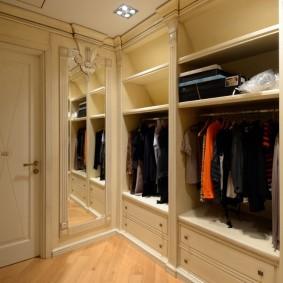гардеробная комната в квартире варианты идеи