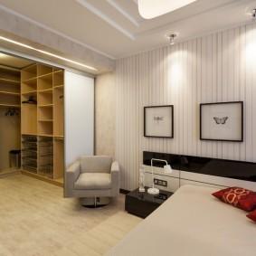 гардеробная комната в квартире фото виды