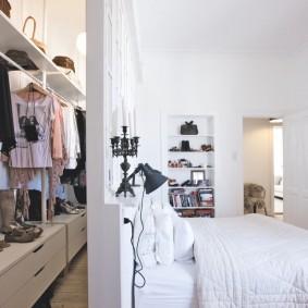 гардеробная комната в квартире фото видов