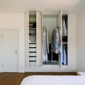 гардеробная комната в квартире виды оформления
