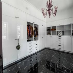 гардеробная комната в квартире дизайн