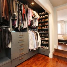 гардеробная комната в квартире фото дизайн