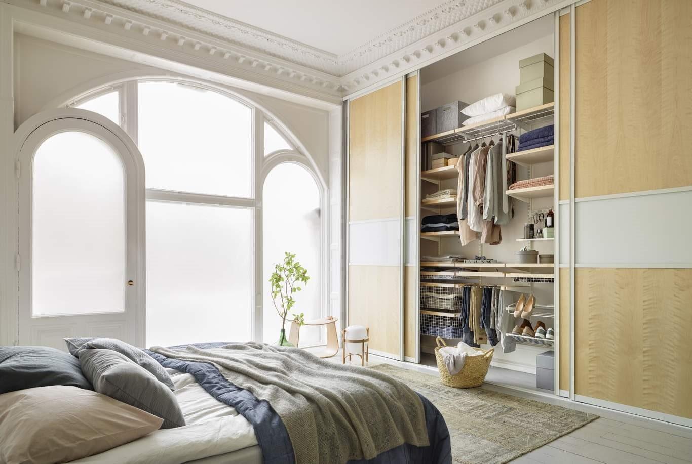 гардеробная в спальне